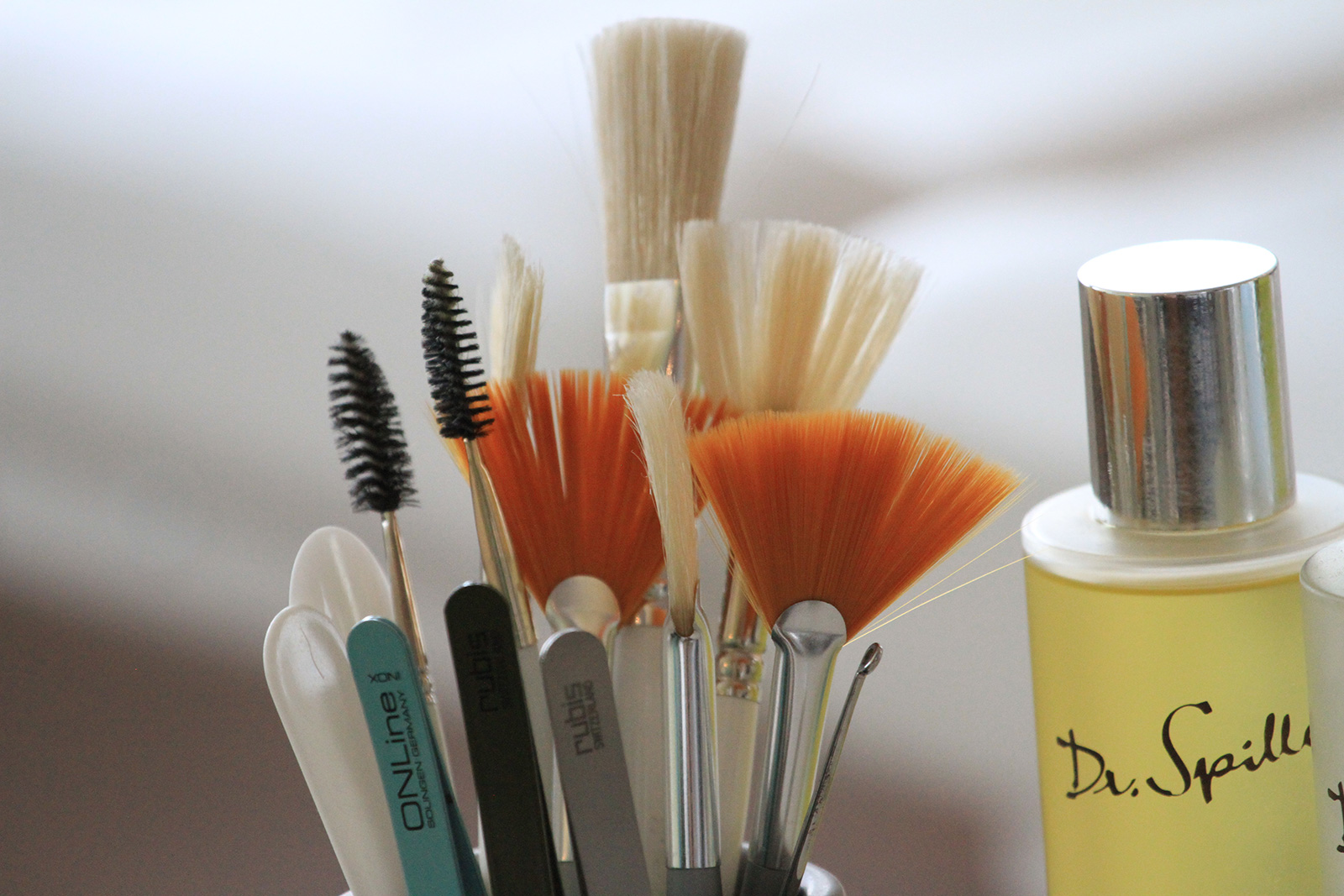 Impressionen aus dem Beau Visage Kosmetik-Studio in Winterthur